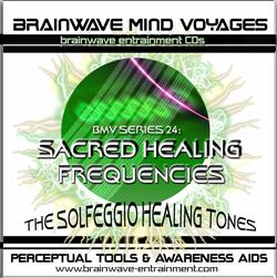 SACRED HEALING FREQUENCIES CD-SOLFEGGIO HEALING TONES